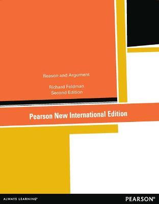 Reason and Argument - Feldman, Richard