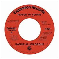 Reason To Survive/Peace of Mind - Rance Allen Group