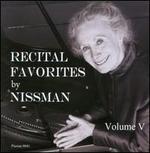 Recital Favorites by Nissman, Vol. 5