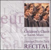 Recital - Dominic Faricier (piano); Georges Aloy (organ); Saint Marc Children's Choir (choir, chorus); Les musiciens de Fourvi�re;...