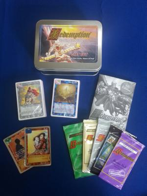 Redemption Gift Set: Starter Decks and Booster Packs for Redemption Trading Card Game - Anderson, Rob