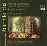 Reicha: Sinfonia concertante; Symphony; Overture