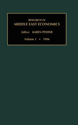 Research in Middle East Economics Vol 1 - Pfifer