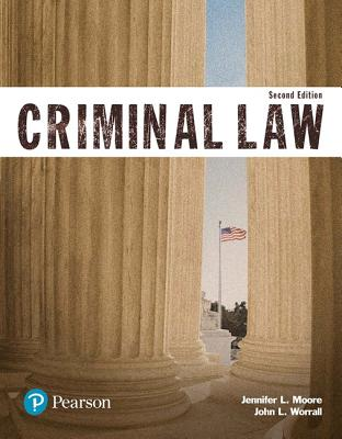 Revel for Criminal Law (Justice Series) -- Access Card - Moore, Jennifer