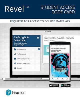 Revel for the Struggle for Democracy, 2016 Election Edition -- Access Card - Greenberg, Edward S, and Page, Benjamin I