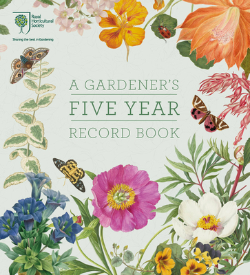Rhs a Gardener's Five Year Record Book - Rhs