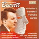 Richard Rodney Bennett: Piano Concerto; Commedia IV; Five Studies; Capriccio - Philip Jones Brass Ensemble (brass ensemble); Richard Rodney Bennett (piano); Stephen Kovacevich (piano);...
