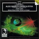 Richard Strauss: Also Sprach Zarathustra; Don Juan