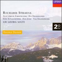 Richard Strauss Concert - Rainer Kuchl (violin); Samuel Magad (violin); Wiener Philharmoniker; Georg Solti (conductor)