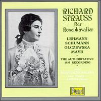 Richard Strauss Der Rosenkavalier - Aenne Michalsky (soprano); Bella Paalen (contralto); Elisabeth Schumann (soprano); Hermann Gallos (tenor); Karl Ettl (bass);...