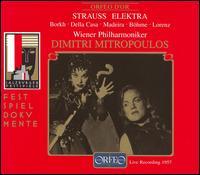 Richard Strauss: Elektra - Audrey Gerber-Candy (vocals); Inge Borkh (vocals); Jean Madeira (vocals); Kerstin Meyer (vocals); Kurt Böhme (vocals);...