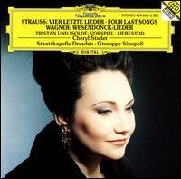 Richard Strauss: Vier Letzte Lieder; Wagner: Wesendonck-Lieder - Cheryl Studer (soprano); Staatskapelle Dresden; Giuseppe Sinopoli (conductor)