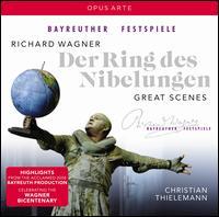 Richard Wagner: Der Ring des Nibelungen - Great Scenes - Albert Dohmen (vocals); Andrew Shore (vocals); Anna Gabler (vocals); Annette Küttenbaum (vocals); Arnold Bezuyen (vocals);...
