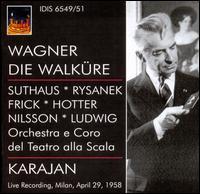 Richard Wagner: Die Walküre - Birgit Nilsson (vocals); Gerda Schreyer (vocals); Gottlob Frick (vocals); Hans Hotter (vocals); Hilde Rössl-Majdan (vocals);...