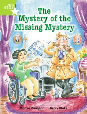 Rigby Star Independent Year 2 Lime Fiction: The Mystery of the Missing Mystery Single - Vaughan, Marcia