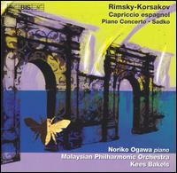 Rimsky-Korsakov: Capriccio espagnol; Piano Concerto; Sadko - Noriko Ogawa (piano); Malaysian Philharmonic Orchestra; Kees Bakels (conductor)