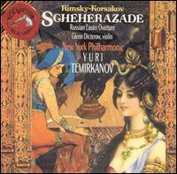 Rimsky-Korsakov: Scheherazade; Russian Easter Overture - Glenn Dicterow (violin); New York Philharmonic; Yuri Temirkanov (conductor)