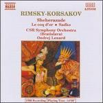 Rimsky-Korsakov: Sheherazade; Le coq d'or; Sadko