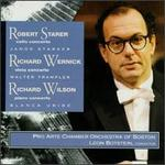 Robert Starer: Cello Concerto; Richard Wernick: Viola Concerto; Richard Wilson: Piano Concerto