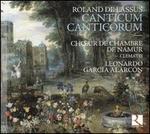 Roland de Lassus: Canticum Canticorum