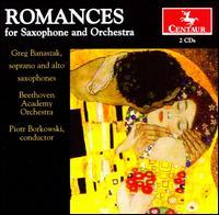 Romances for Saxophone & Orchestra - Beata Urbanek (cello); Ewelina Bielarczyk (viola); Greg Banaszak (sax); Greg Banaszak (sax); Jan Kalinowski (cello);...
