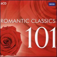 Romantic Classics 101 - Alexandre Lagoya (guitar); Angela Gheorghiu (soprano); Bryn Terfel (bass baritone); Carlo Bergonzi (tenor); Carlo Cossutta (tenor); Cristina Ortiz (piano); Fiorenza Cossotto (mezzo-soprano); Franco Corelli (tenor); Francoise Pollet (soprano)