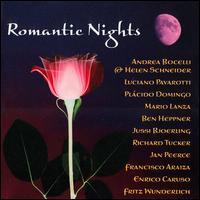 Romantic Nights - Andrea Bocelli (vocals); Ben Heppner (vocals); Enrico Caruso (tenor); Francisco Araiza (vocals); Fritz Wunderlich (vocals);...