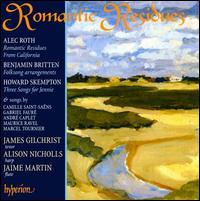 Romantic Residues - Alison Nicholls (harp); Jaime Martín (flute); James Gilchrist (tenor)