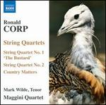 "Ronald Corp: String Quartets Nos. 1 ""The Bustard"" & 2; Country Matters"