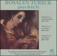 Rosalyn Tureck plays Bach - Rosalyn Tureck (piano)
