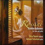 Rossini: Ariettes Italiennes for voice and guitar