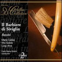 Rossini: Barbiere di Siviglia [1956] - Anna Maria Canali (vocals); Luigi Alva (vocals); Maria Callas (vocals); Melchiorre Luise (vocals);...