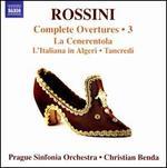 Rossini: Complete Overtures, Vol. 3 - La Cenerentola; L'Italiana in Algeri; Tancredi