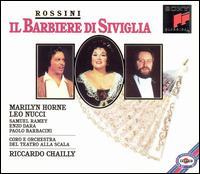 Rossini: Il Barbiere di Siviglia - Carlo Folcia (vocals); Enzo Dara (vocals); John Fisher (harpsichord); Leo Nucci (vocals); Marilyn Horne (vocals);...
