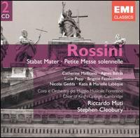 Rossini: Stabat Mater; Petite Messe Solennelle - Agnes Baltsa (soprano); Brigitte Fassbaender (contralto); Catherine Malfitano (soprano); David Briggs (harmonium);...