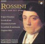 Rossini: The 5 One-Act Operas - Alessandra Rossi De Simone (vocals); Alessandro Corbelli (vocals); Amelia Felle (vocals); Bruno de Simone (vocals);...
