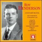 Roy Henderson Centenary Recital