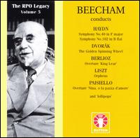 RPO Legacy, Vol. 3: Beecham Conducts Haydn; Dvorák; Berlioz... - Royal Philharmonic Orchestra; Thomas Beecham (conductor)
