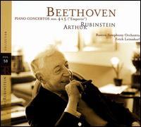 Rubinstein Collection, Vol. 58 - Arthur Rubinstein (piano); Boston Symphony Orchestra; Erich Leinsdorf (conductor)