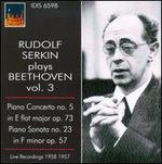 Rudolf Serkin Plays Beethoven, Vol. 3
