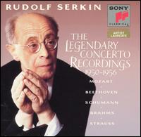 Rudolf Serkin: The Legendary Concerto Recordings 1950-1956 - Rudolf Serkin (piano)
