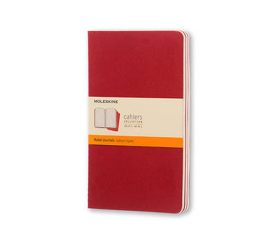 Ruled Cahier: Large -
