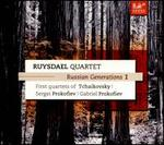 Russian Generations, Vol. 1: First Quartets of Tchaikovsky, Sergei Prokofiev, Gabriel Prokofiev