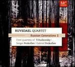 Russian Generations, Vol. 1: First Quartets of Tchaikovsky, Sergei Prokofiev, Gabriel Prokofiev