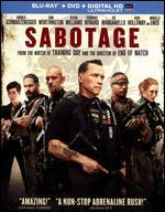 Sabotage [2 Discs] [Includes Digital Copy] [UltraViolet] [Blu-ray/DVD]