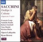 Sacchini: Oedipe � Colone