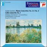 Saint-Saëns: Piano Concertos No. 2 & No. 4; Cello Concerto No. 1