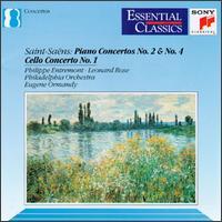 Saint-Saëns: Piano Concertos No. 2 & No. 4; Cello Concerto No. 1 -