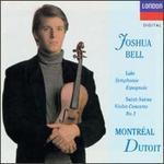 Saint-Saëns: Violin Concerto No. 3; Lalo: Symphonie espagnole