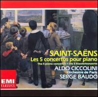 Saint-Sa?ns: Les 5 Concertos pour Piano - Aldo Ciccolini (piano); Orchestre de Paris; Serge Baudo (conductor)